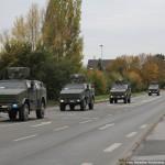 Die Medium Brigade der belgischen Armee auf Übung in der Lüneburger Heide